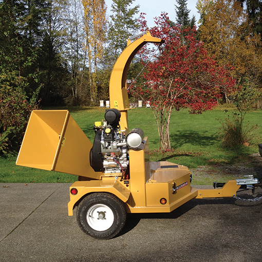 Wee Chip Cowichan Chipper For Hire