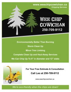 Wee Chip Cowichan Poster 250-709-9112